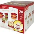 Rubbermaid® Easy Find Lids™ Food Storage Set, 20/Pk