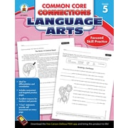 Carson-Dellosa™ Common Core Connections Language Arts Workbook, Grade 5