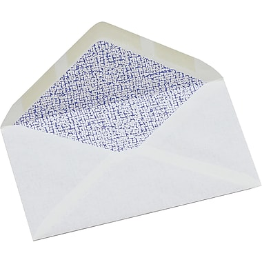 Simply™ #8 Tinted White Security Envelope, 3 - 5/8