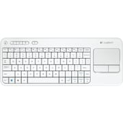 Logitech K400 Wireless Touch Keyboard, White