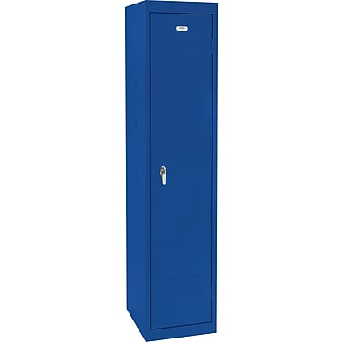 Sandusky Single Tier Storage Locker, Blue