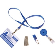 IDville ID Badge Accessory Bundle - Blue