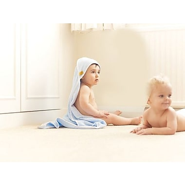 Go Travel Hooded Baby Towel, Blue