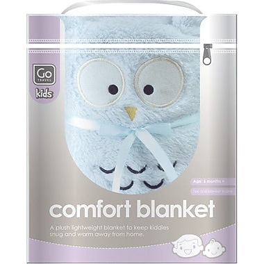 Go Travel Baby Comfort Blanket, Blue