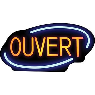 Royal Sovereign™ – Enseigne à DEL Ouvert, français