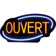 Royal Sovereign® LED Open Sign, French
