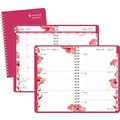 AT-A-GLANCE® Weekly Academic Appointment Book; 5x8in., Pink Blossom, 2014-2015