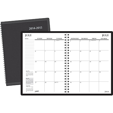 2014/2015 Staples® Academic Recycled Monthly Planner, 8in. x 11in.