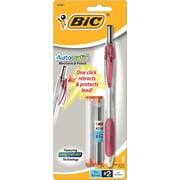 Bic AutoMatic 0.5mm Mechanical Pencil, Burgundy, Each
