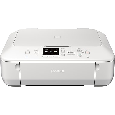 Canon PIXMA MG5520 Inkjet Color All-in-One Photo Printer, White
