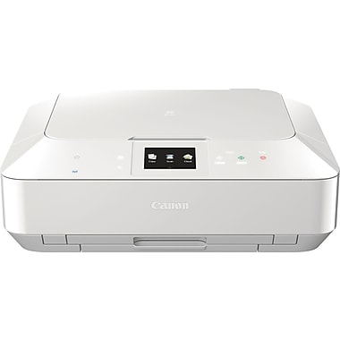 Canon PIXMA MG7120 Color Inkjet All-in-One Photo Printer, White