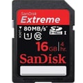 SanDisk Extreme SDHC UHS1 16GB Flash Memory Card
