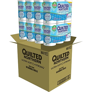 Quilted Northern Ultra Soft & Strong Toilet Paper, 48 Rolls/Case