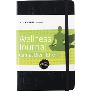 Moleskine Passion Journal - Wellness, Large, Hard Cover, 5in. x 8-1/4in.