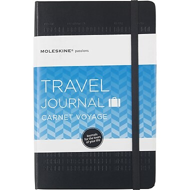 Moleskine Passion Journal - Travel, Large, Hard Cover, 5