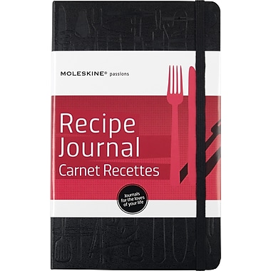 Moleskine Passion Journal - Recipe, Large, Hard Cover, 5in. x 8-1/4in.