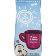 Folgers® Life is Good®; Dark & Daring Ground Coffee, 11 oz.
