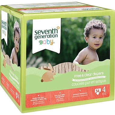 Seventh Generation® Diapers, Stage 4