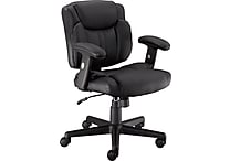 Staples Telford II Luxura Managers Chair, Black