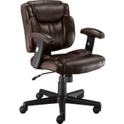 Staples® Telford II™ Luxura® Managers Chair, Brown