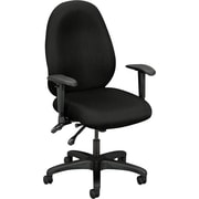 Basyx by HON ® VL630 High Performance High-Back Fabric Task Chair, Black