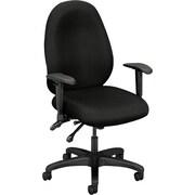 Basyx by HON ® VL630 High Performance High-Back Fabric Task Chair, Black