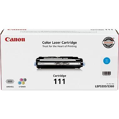Canon® 111 Cyan Toner Cartridge (1659B008)