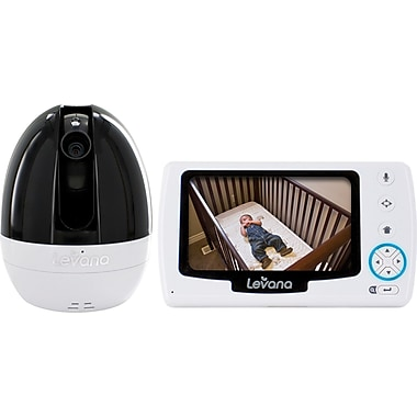 Levana Stella™ 4.3in. PTZ Digital Baby Video Monitor with Talk to Baby Intercom
