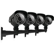 Defender® Hi-Res 4 x 600 TVL 100ft Night Vision Outdoor Security Cameras