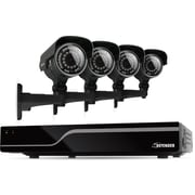 Defender® Sentinel 8CH 500GB DVR w/ 4 x Hi-Res 600TVL 100ft Night Vision
