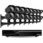 Defender® Sentinel 16CH 500GB DVR w/ 16 x Hi-Res 600TVL 100ft Night Vision