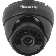 Defender® Ultra High Resolution Indoor/Outdoor Dome Security Camera with 65ft Night Vision & 600 TVL