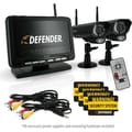 Defender Digital Wireless DVR Security System w/ 7in. LCD Monitor, SD Card Recording & Two Long Range Night Vision Cameras