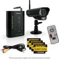 Defender PX301-012 Digital Wireless DVR Security System with receiver, SD Card Recording and Long Range Night Vision Camera