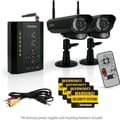 Defender PX301-012 Digital Wireless DVR Security System w/ receiver, SD Card Recording & 2 Long Range Night Vision Cameras