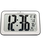 Marathon Self-Setting Panoramic Workstation Clock, Atomic