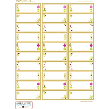 Martha Stewart Home Office™ with Avery™ Easy Peel® White Address Labels 19026, 1in. x 2-5/8in., Pack of 90