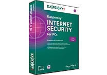 Kaspersky Internet Security for Windows (1-3 Users)[Boxed