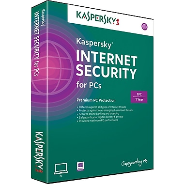Kaspersky Internet Security for Windows (1 User)[Boxed]