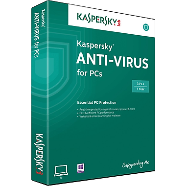 Kaspersky Anti-Virus for Windows (1 User) [Download]