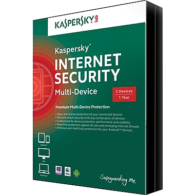 Kaspersky Multi Device for Windows/Mac (1-5 Users) [Download]