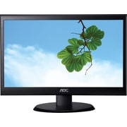 AOC e2050Swd 20-Inch Class Screen LED-Lit Monitor, 1600 x 900 Res, 200 cd/m2 , 5ms, 20M:1DCR, VGA/DVI, Wall Mountable