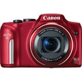 Canon Powershot SX170 IS Digital Camera, Red