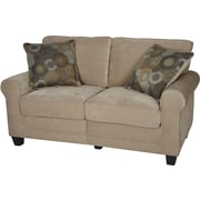 "Serta RTA Copenhagen Collection, 61"" Fabric Loveseat Sofa, Vanity Fabric"