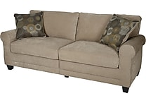 Serta RTA Copenhagen Collection, 78' Fabric Sofa, Vanity