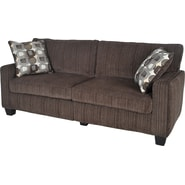 Serta San Paolo Collection Sofa, Mink Brown Fabric