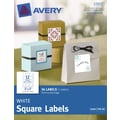 Avery® Print-to-the-Edge White Square Labels 22922, 2in. x 2in.,  Pack of 36