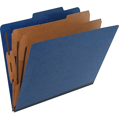 Pendaflex® Pressguard® Classification Folder, Letter, Blue, 2/Pack