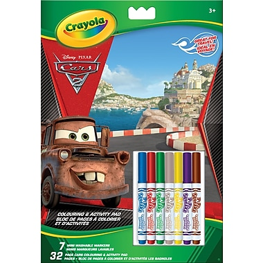Crayola® Art and Activity Book - Cars