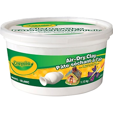 Crayola® Air Dry Clay, White, 1.13 KG